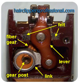 Oster Classic 76 Gearbox Photo
